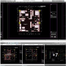 Hồ sơ thiết kế thi công nội thất chung cư mẫu 004