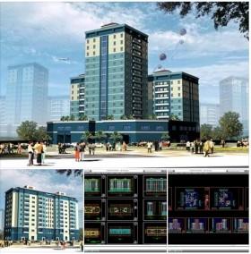 Hồ sơ thiết kế chung cư thấp cao tầng 002