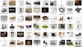 Tổng hợp 92 Model vật trang trí và đèn