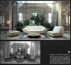 Thư viện 3dsMax EV Interiors Vol.21
