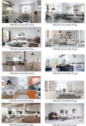 Thư viện 3dsMax EV Interiors Vol.30