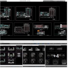Hồ sơ thiết kế Trường học đào tạo công nhân Kỹ thuật cao