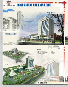 Đồ án tốt nghiệp kiến trúc - Bệnh viện Đa khoa tỉnh Ninh Bình