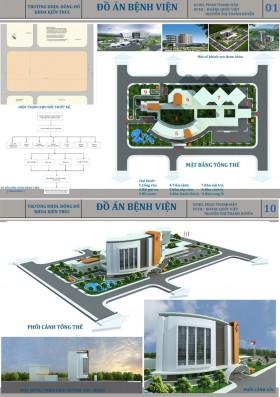 Đồ án tốt nghiệp kiến trúc - Bệnh viện Đa khoa Tổng hợp