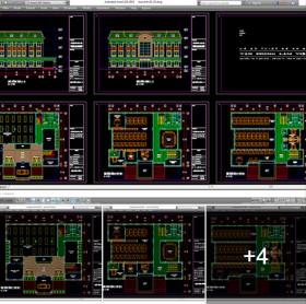 Hồ sơ thiết kế phương án Trụ sở làm việc Văn phòng 002