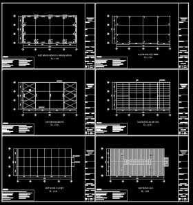 Hồ sơ thiết kế nhà xưởng khung thép 01