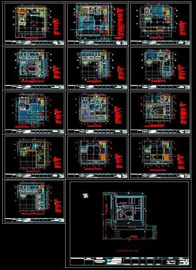 Hồ sơ thiết kế khách sạn 12 tầng mẫu 003