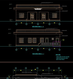 Hồ sơ thiết kế thi công Trạm Y tế Xã M01
