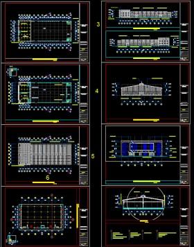 Hồ sơ thiết kế nhà xưởng sản xuất Dây điện