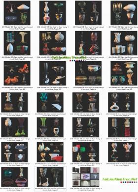 Tổng hợp 104 model 3d về Bình Lọ trang trí file 3dsmax
