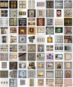 Tổng hợp 116 model 3d về Khung tranh trang trí đẹp Full