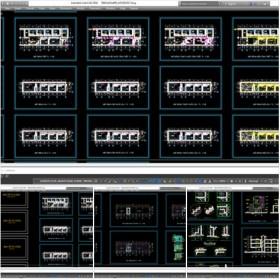 Hồ sơ thiết kế tòa nhà Karaoke 2 tầng diện tích 11x32m