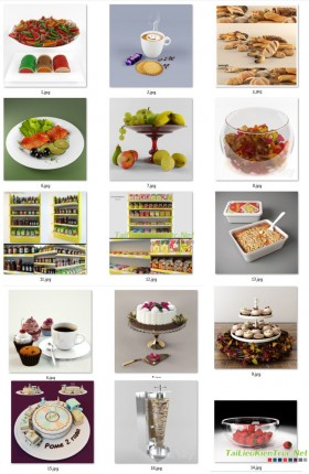 Tổng hợp 15 Model 3dsmax các loại thực phẩm