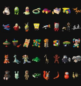 Tổng hợp 40 mode 3d kids - Đồ chơi trẻ em full V2