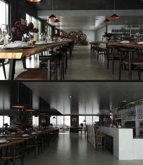 Sence Shop 002 - Thiết kế Nhà hàng hiện đại