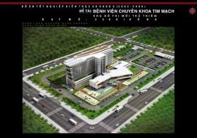 Đồ án tốt nghiệp kiến trúc - Bệnh viện Khoa Tim 250 giường Thủ Thiêm