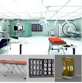 Tổng hợp 3d Model về Thiết bị Y tế