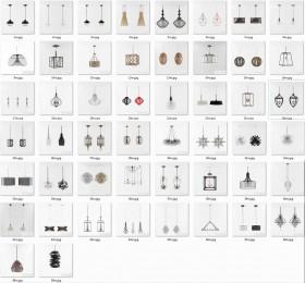 Tổng hợp 50 Model 3D đèn hiện đại 014