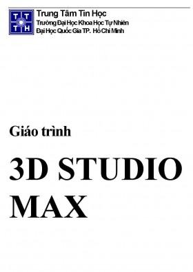 Giáo trình 3d STUDIO max cơ bản