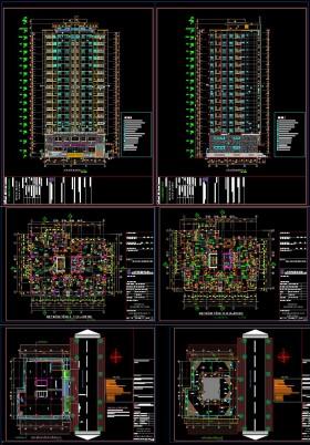 Hồ sơ bản vẽ thiết kế Công trình chung cư 17 tầng full 003