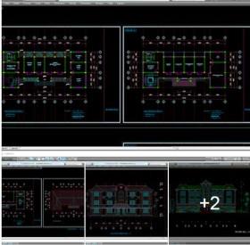 Hồ sơ thiết kế thi công Ủy Ban nhân dân xã mẫu 04
