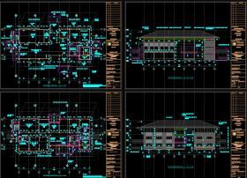 Hồ sơ thiết kế Trụ sở làm việc Văn phòng Công ty mẫu 003