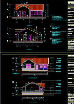 Hồ sơ thiết kế nhà 1 tầng đẹp diện tích 9x11m