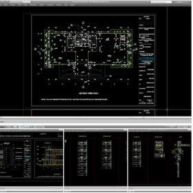 Hồ sơ thiết kế Trụ sở làm việc Văn phòng Công ty THIÊN NAM mẫu 004