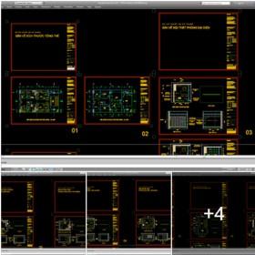 Hồ sơ chi tiết bổ đồ nội thất văn phòng công ty M02