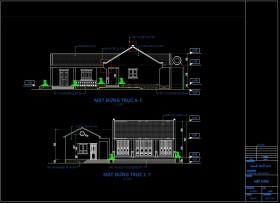 Hồ sơ thiết kế thi công nhà thờ họ mẫu số 007 full Kiến trúc