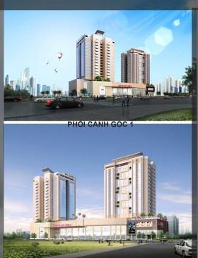 Đồ án tốt nghiệp kiến trúc sư - Thiết kế khu phức hợp Nhà ở kết hợp Thương mại và dịch vụ
