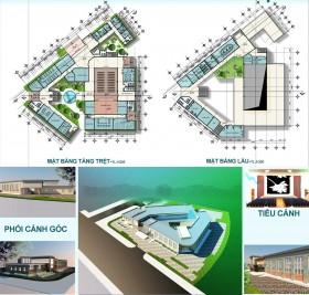 Đồ án kiến trúc - Thiết kế nhà văn hóa Quận