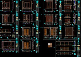 Thư viện autocad các mẫu cửa gỗ sưu tầm rất đầy đủ và đẹp