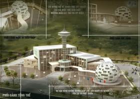 Đồ án tốt nghiệp kiến trúc - Trung tâm sáng tạo Kiến trúc