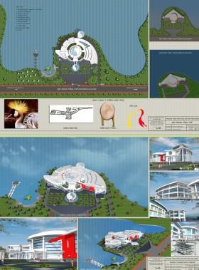 Đồ án kiến trúc - Trung tâm văn hóa Lễ hội Bắc Ninh