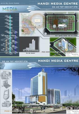 Đồ án tốt nghiệp kiến trúc - Trung tâm Media Hà Nội