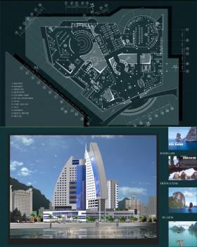 Đồ án tốt nghiệp kiến trúc - Tổ hợp Khách sạn và Văn phòng