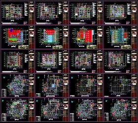 Hồ sơ thiết kế bệnh viện 6 tầng 700m2 full kiến trúc, kết cấu, điện nước