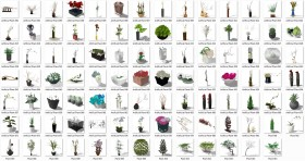 Thư viện Tổng hợp 97 Model sketchup các loại chậu, lọ hoa trang trí