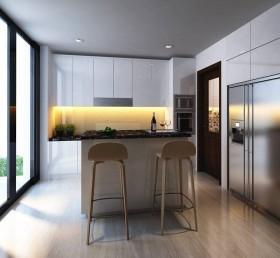 Sence Phòng bếp + ăn 0008. Thiết kế nội thất Bếp ăn