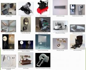 Thư viện 3d tổng hợp về các thiết bị tổng hợp P2