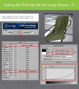 Hướng dẫn Thiết lập Vật liệu trong 3dsmax - P1