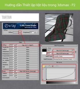 Hướng dẫn Thiết lập Vật liệu trong 3dsmax - P2