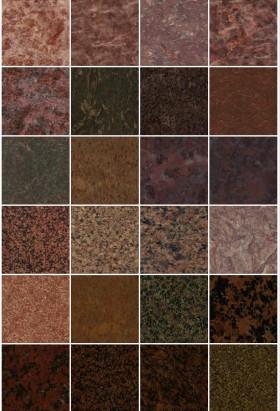 Tổng hợp thư viện 50 Map Đá Granite Brown P2