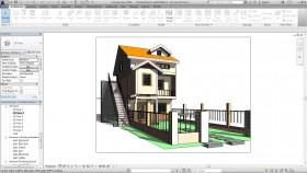 Hồ sơ thiết kế Biệt thự 3 tầng 6x8m bằng Revit