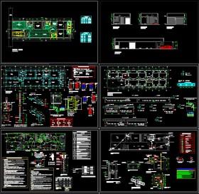 Hồ sơ thiết kế nhà 1 tầng diện tích 6x20m - MS018