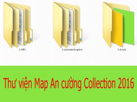 Thư viện Map An cường collection 2016