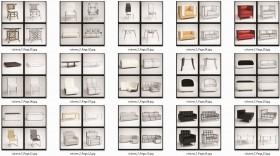 Thư viện tổng hợp 30 model 3d bàn ghế cao cấp 00021