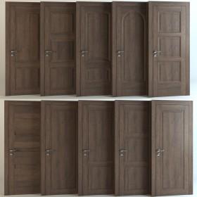 Tổng hợp 10 Model 3dsmax về Cửa gỗ đẹp P6