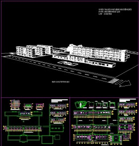Đồ án kiến trúc - Thiết kế trường THPT Mẫu số 05